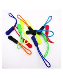 Decorative Fancy Plastic Zipper Puller Slider Rope For Sport Wear
