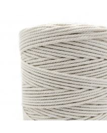 1mm to 8mm Raw white Twisted String Natural Cotton Cord