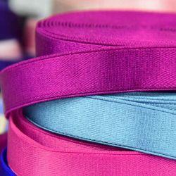 Fashionable design comfortable material decorative woven elastic tape for lingerie elastic belt