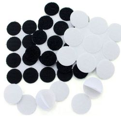 Self Adhesive Velcro Hook Loop Round Pads Pairs or Velcro Dots