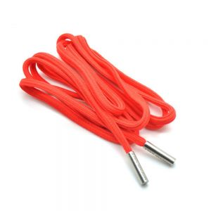 Cord with Matt Silicone, metal and Plastic Endings for Decorative bags and Shoes