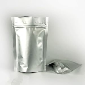 Grip Lock Foil Poly Bags With 175x270mm / 500g