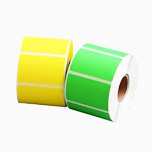 Barcode Color Label Roll