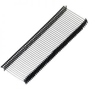 1000Pcs Tag Pin-STD 10mm Black Garment Clothing Price Label Tagging Tag Tagger Gun Barbs Rope pin line tag holder sling PINS for Tag Gun