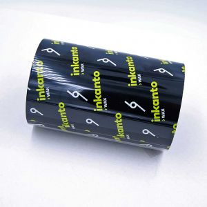 Barcode Ink Roll (Thermal Ink Roll / Ribbon Roll) 110mm Black