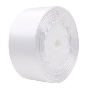 Satin Ribbon Roll 1 Inch Width 16 yard Lace for Wedding Party Decoration and Gift Wrapping