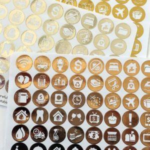 Foil Sticker Paper