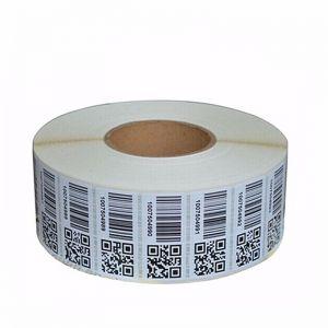 QR Barcode Label Roll
