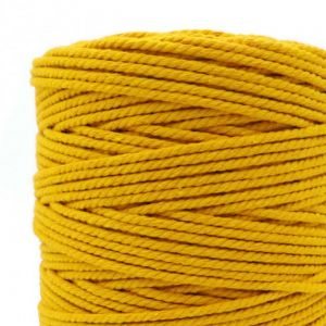1mm 2mm 3mm 4mm 5mm 6mm 7mm 8mm Thick Colored Decorative Twisted String Natural Cotton Cord Knit Cotton Decor Rope
