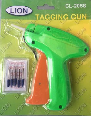 Lion/CL-205S/Clothing price tags gun with 5 Needls for Garment