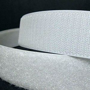 250m Velcro Tape 4inch White or Black Hook and Loop