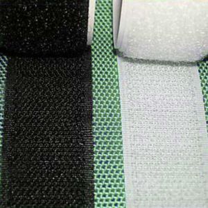 250m Velcro Tape 2inch White or Black Hook and Loop
